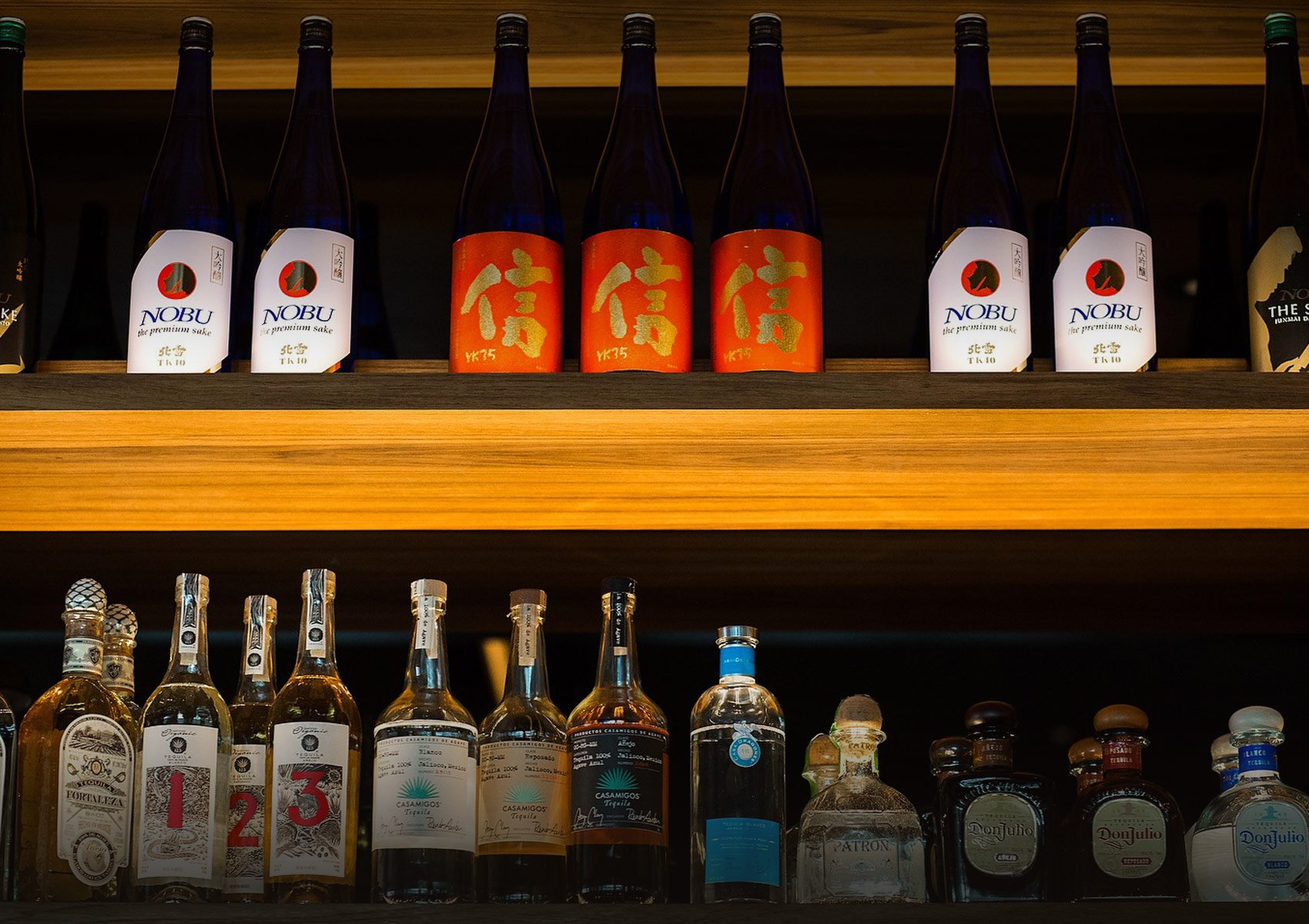Sake and Liquor Selection at Matsuhisa Denver